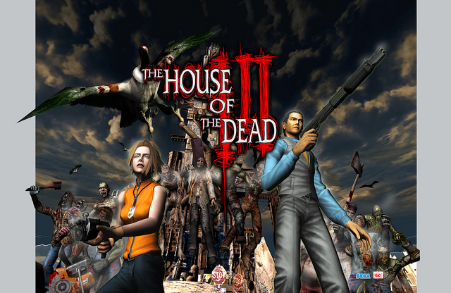 The House Of The Dead Iii Now Available On Psn The Website Of
