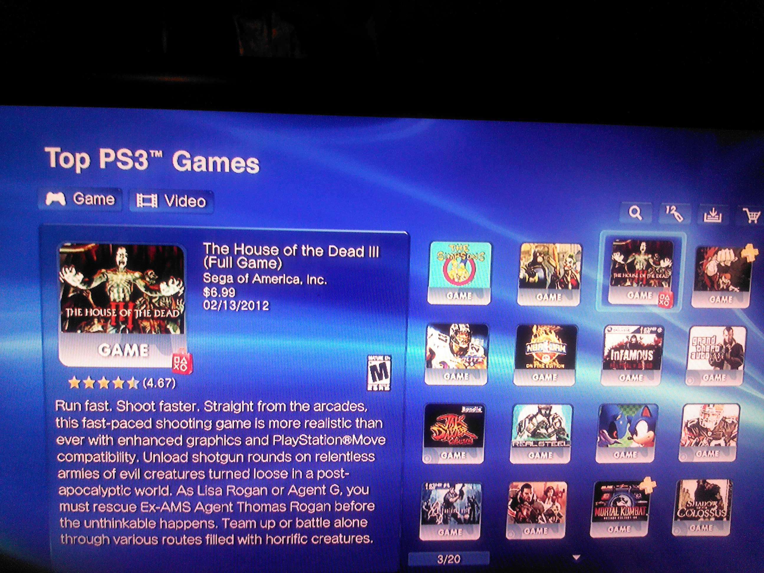 The House Of The Dead Iii Is The 3 Best Selling Psn Game Of The Month The Website Of The Dead