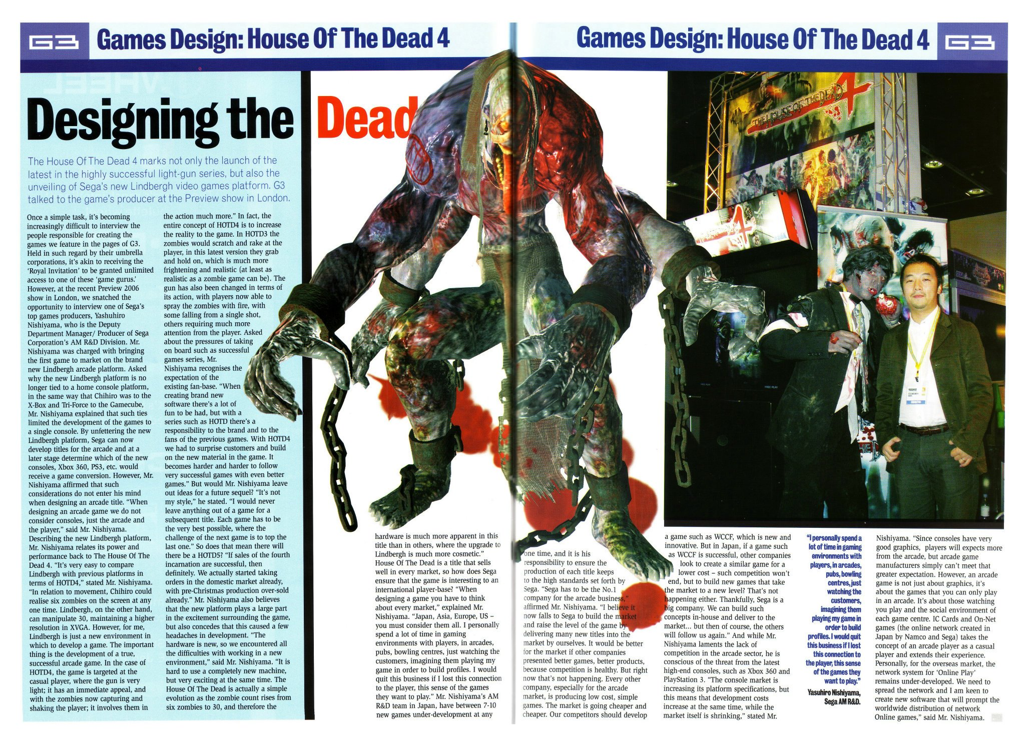 Sega Amusements Posts The House Of The Dead 4 Arcade Pics And Info From 2005 The Website Of The Dead